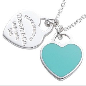 Tiffany & Co necklace with L pendant